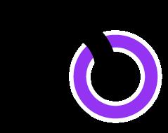 ロゴのみ(紫)